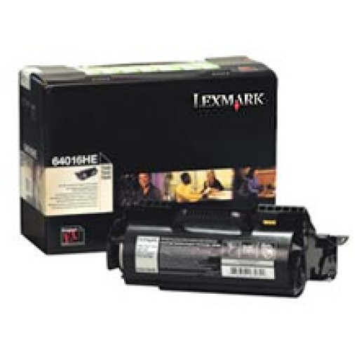 Lexmark 64016HE, Toner Cartridge- HC Black, T640, T642, T644- Genuine
