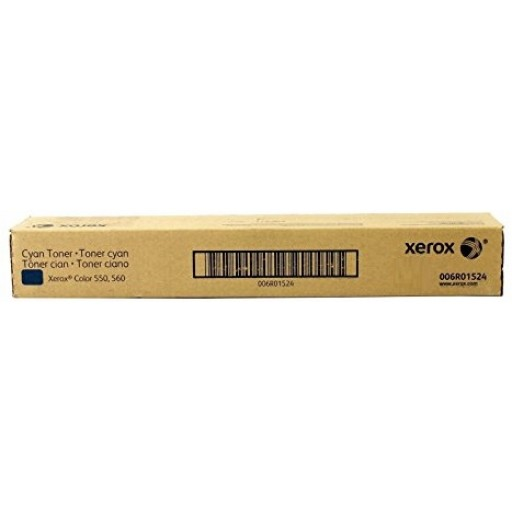 Xerox 006R01524, Toner Cartridge Cyan, Color 550, 560- Original
