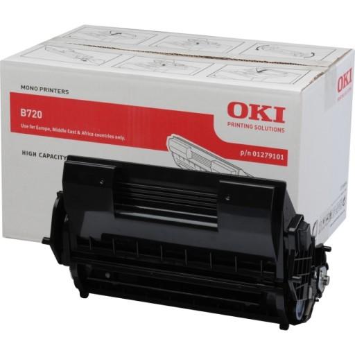 Oki, 01279101, Toner Cartridge- Black, B720, B730- Original