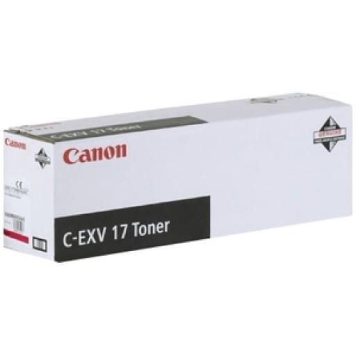 Canon 0260B002AA, Toner Cartridge Magenta, iR C4080, C4580, C5185, C-EXV17- Original