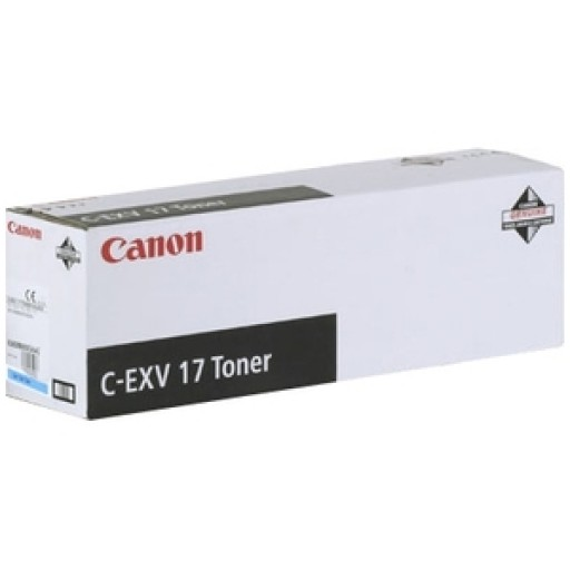 Canon 0261B002AA, Toner Cartridge Cyan, iR C4080, C4580, C5185, C-EXV17- Original