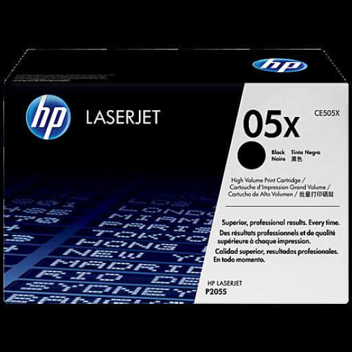HP CE505X, Toner Cartridge- HC Black, P2050, P2055- Original