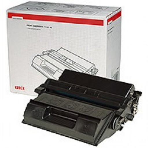 Oki 09004462 Toner Cartridge - HC Black, B6500- Genuine