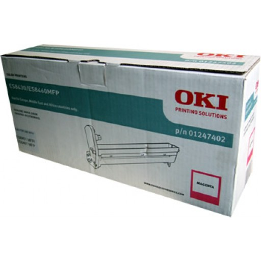 OKI 01247402, Drum Unit Magenta , ES8430, ES8451, ES8460, ES8461- Genuine