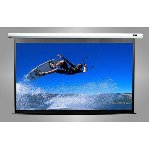 Elite M135XWV2-WHITE Manual Pull Down Projection SCreen