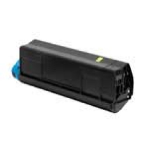 Oki 42804513 Toner Cartridge Yellow, C3000, C3100 - Genuine