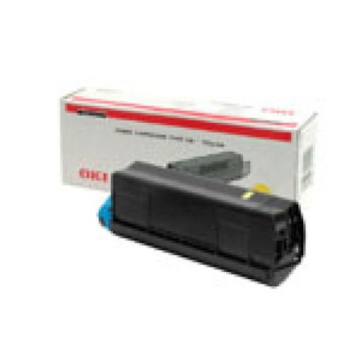 Oki 42127405, Toner Cartridge- Yellow, C5000, C5100, C5200, C5300, C5400 ,Type C6- Genuine