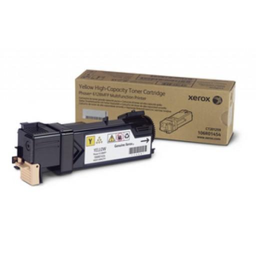 Xerox 106R01454 Toner Cartridge - Yellow Genuine