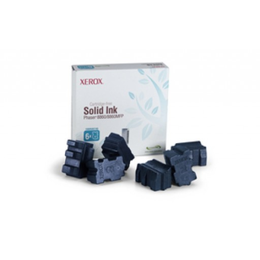 Xerox 108R00746 Solid Ink - 6 x Cyan Genuine