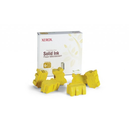 Xerox 108R00748 Solid Ink - 6 x Yellow Genuine
