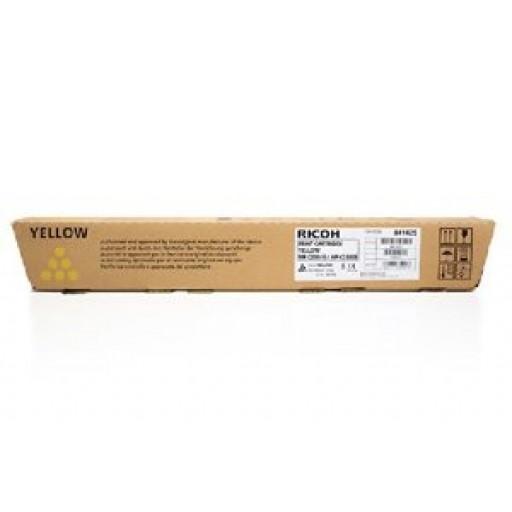 Ricoh 841125, Toner Cartridge Yellow, MP C2800,  C3300, C3001, C3501- Original