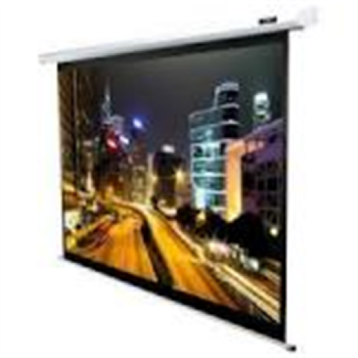 Elite M120XWV2-WHITE Manual Pull Down Projection SCreen