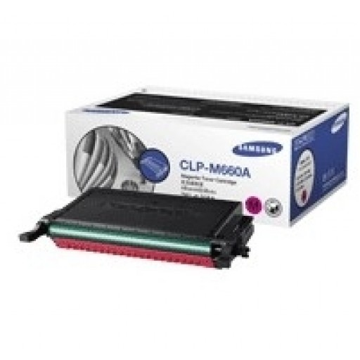 Samsung CLP-M660A Toner Cartridge - Magenta Genuine