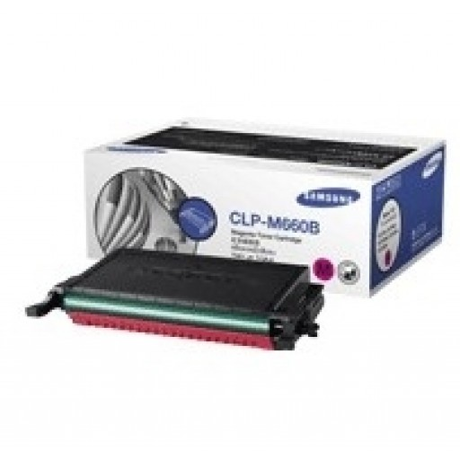 Samsung CLP-M660B Toner Cartridge - HC Magenta Genuine