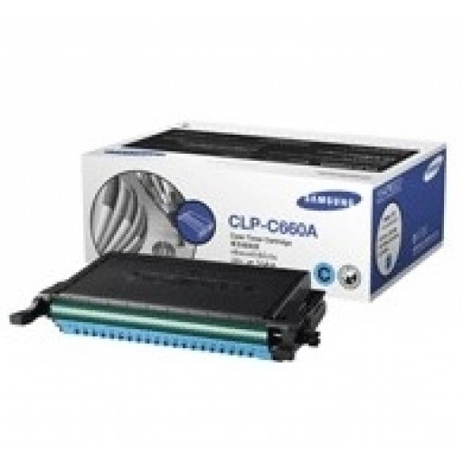 Samsung CLP-C660A Toner Cartridge - Cyan Genuine