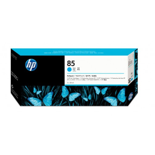 HP C9431A No.85 Ink Cartridge - Cyan Multipack Genuine