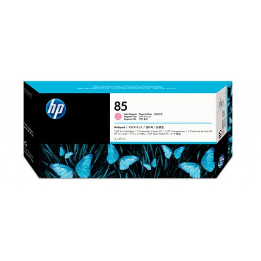 HP C9435A, No.85, Ink Cartridge Light Magenta Multipack, DesignJet 30, 130- Original