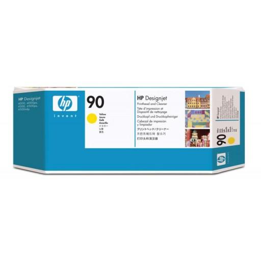 HP C5057A, No.90 Yellow Printhead, Designjet 4000, 4500- Original