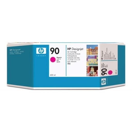 HP C5063A No.90, Ink Cartridge HC Magenta, Designjet 4000, 4500, 4520- Original