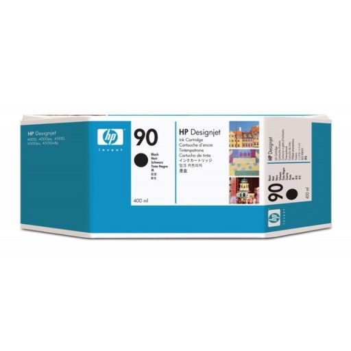 HP C5058A No.90 Ink Cartridge - Black Genuine