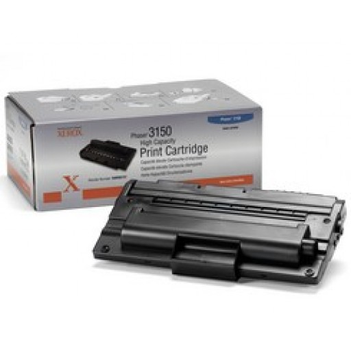 Xerox 109R00747, Toner Cartridge- HC Black, Phaser 3150- Original