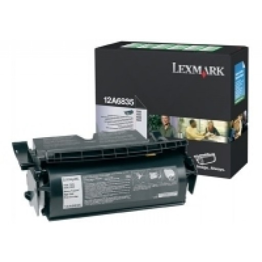 Lexmark 12A6835, Toner Cartridge HC Black, T520, T522, X520, X522- Original