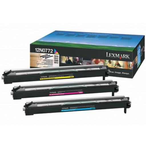 Lexmark 0012N0772 Image Drum Multi-Pack - 3 Colour Genuine