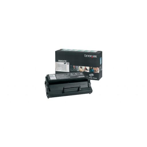 Lexmark 08A0478, Toner Cartridge HC Black, E320, E322- Original