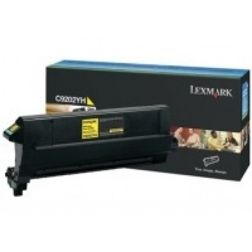 Lexmark C9202YH, Toner Cartridge Yellow, C920- Original