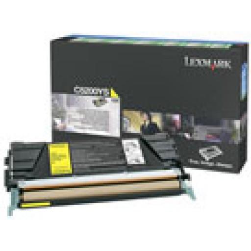 Lexmark C5200YS, Toner Cartridge Light User Yellow, C530DN- Original