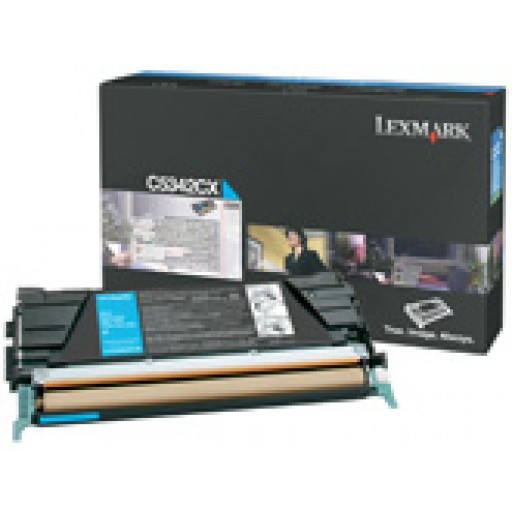 Lexmark C5342CX Toner Cartridge - Extra HC Cyan Genuine