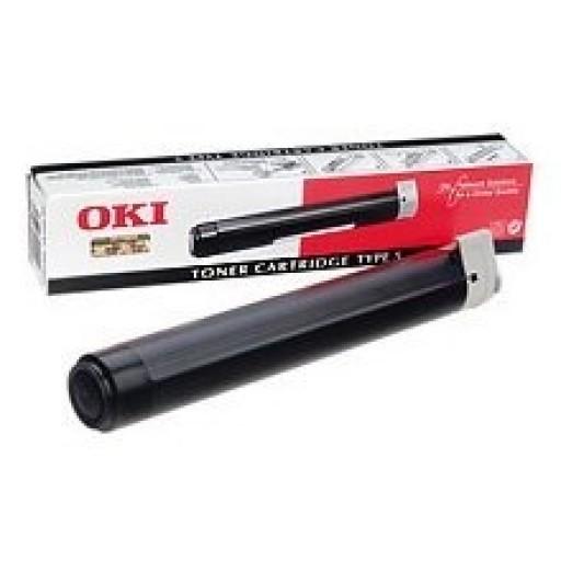 Oki 01074705 Toner cartridge - Black, 5780, 5980- Genuine