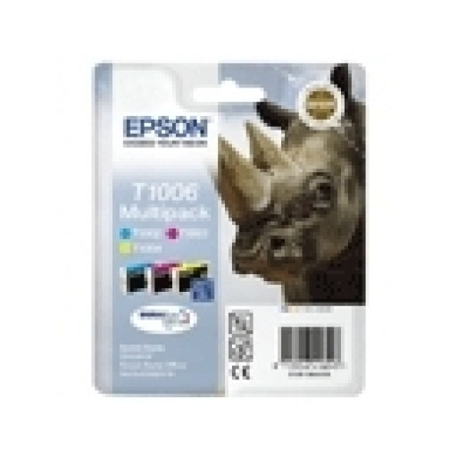 Epson T1006 Ink Cartridge - 3 Colour Multipack Genuine