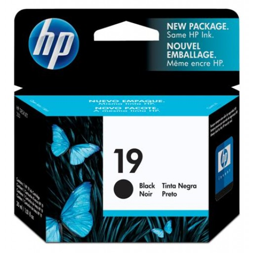 HP C6628AE No.19 Ink Cartridge - Black Genuine