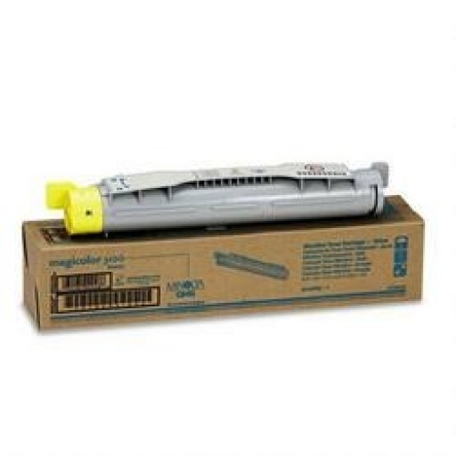 Konica Minolta 1710490-002, Toner Cartridge Yellow, Magicolor 3100- Original