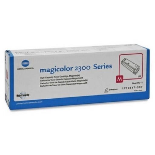 Konica Minolta 1710517007, Toner Cartridge HC Magenta, Magicolour2300, 2350- Original