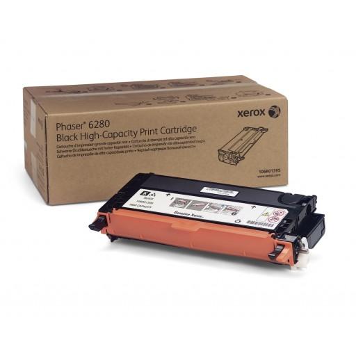 Xerox 106R01395, Toner Cartridge HC Black, Phaser 6280- Original
