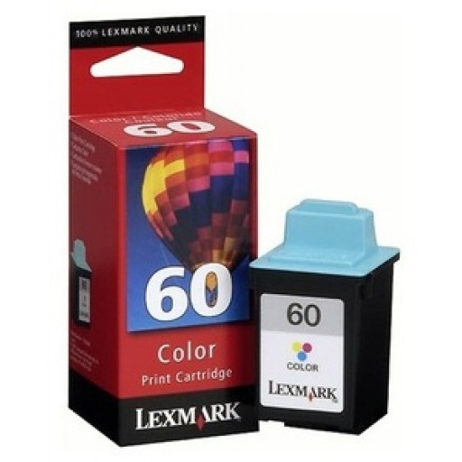 Lexmark 17G0060E No.60 Ink Cartridge - Tri-Colour Genuine
