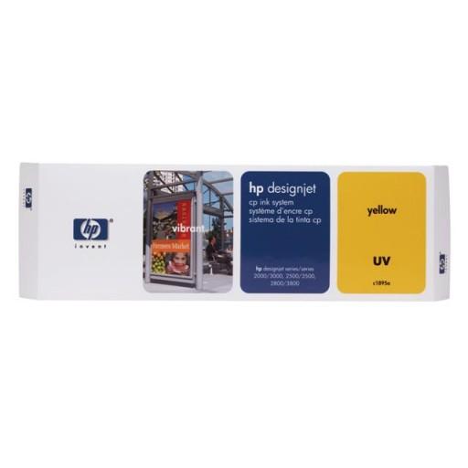 HP C1809A, Ink Cartridge Yellow, Designjet 2000cp, 2500cp, 2800cp, 3000cp- Original