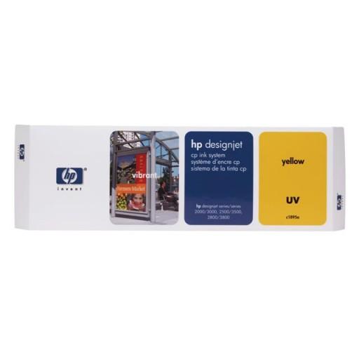 HP C1895A, Ink Cartridge Yellow, Designjet 2000cp, 2500cp, 2800cp, 3000cp- Original