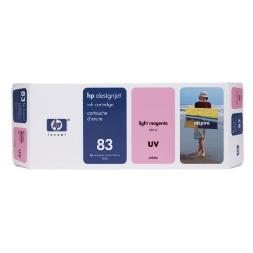 HP C4945A No.83 Ink Cartridge - Light Magenta Genuine