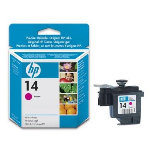 HP C4922DE No.14 Magenta Printhead Genuine