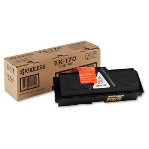 Kyocera TK-170, Toner Cartridge Black, FS1320D, FS1370DN- Genuine