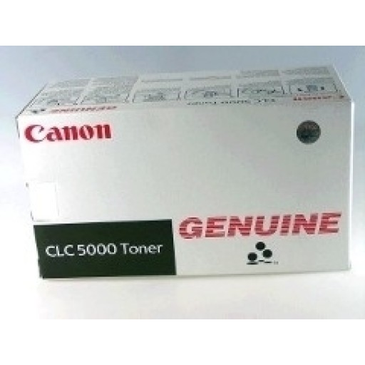 Canon 6601A002AA, Toner Cartridge Black, CLC4000, CLC5000- Original