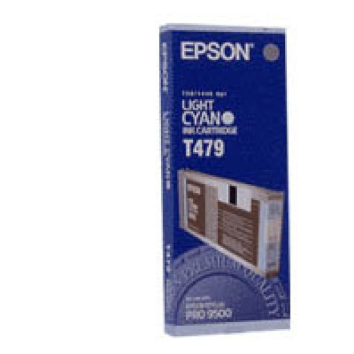 Epson T479 Ink Cartridge - Light Cyan Genuine