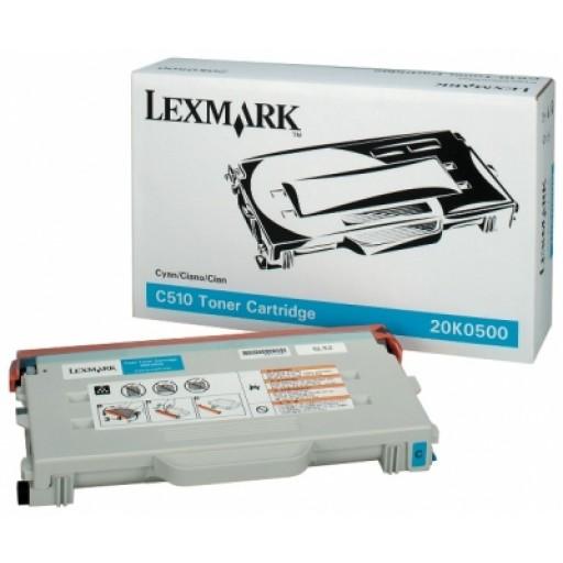 Lexmark 20K0500 Toner Cartridge - Cyan Genuine
