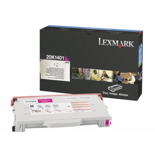 Lexmark 20K1401, Toner Cartridge HC Magenta, C510- Original