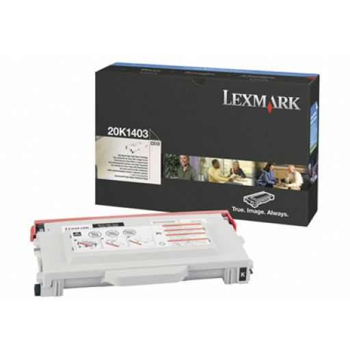 Lexmark 20K1403, Toner Cartridge HC Black, C510- Original