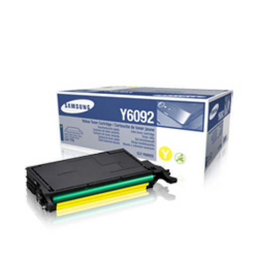 Samsung CLT-Y6092S Toner Cartridge - Yellow Genuine