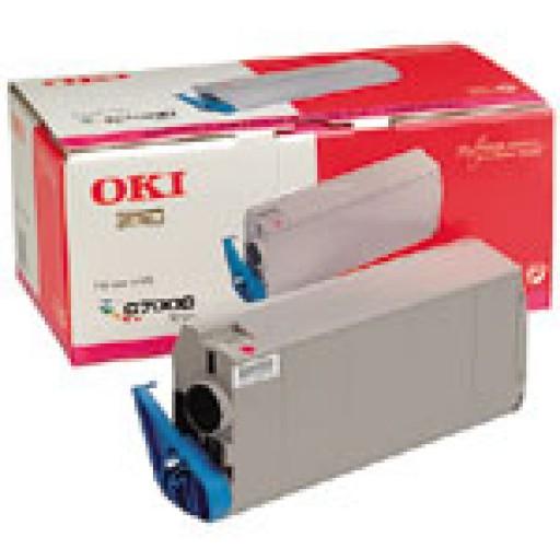 Oki 41304210 Toner Cartridge- Magenta, C7000, C7200, C7400- Genuine